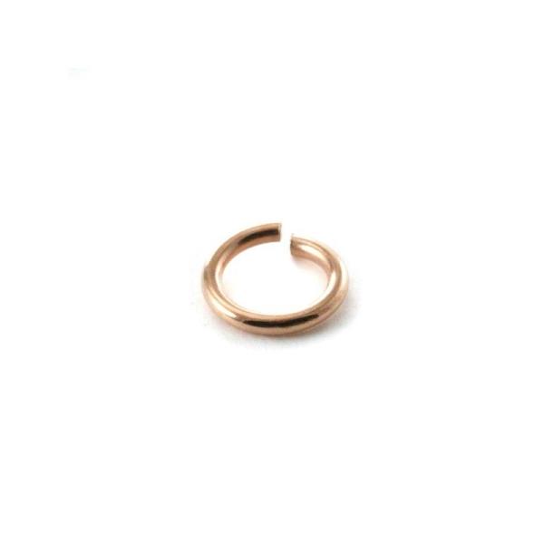 Anneau de jonction rose gold 6 mm x10 - Photo n°1