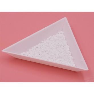 5 Grammes De Perles Miyuki Rocailles 11/0 White Opaque Matted 0402f