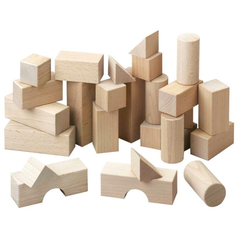 Bloc en bois jeux de construction creavea for Bloc construction bois