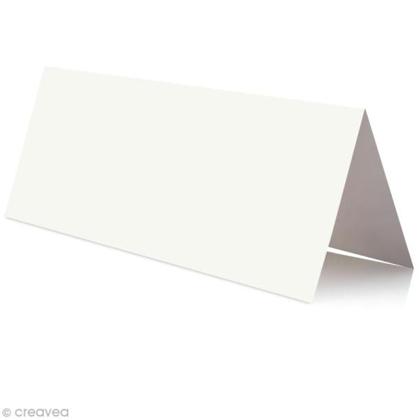 Marque place Blanc 85 x 80 mm x 25 - Photo n°1