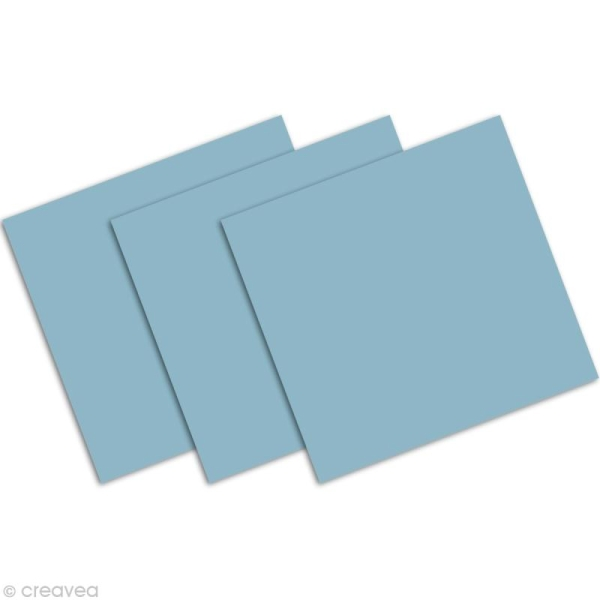 Marque place Bleu lavande 85 x 80 mm x 25 - Photo n°2
