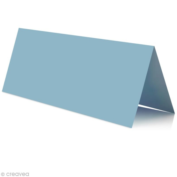 Marque place Bleu lavande 85 x 80 mm x 25 - Photo n°1