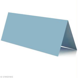 Marque place Bleu lavande 85 x 80 mm x 25