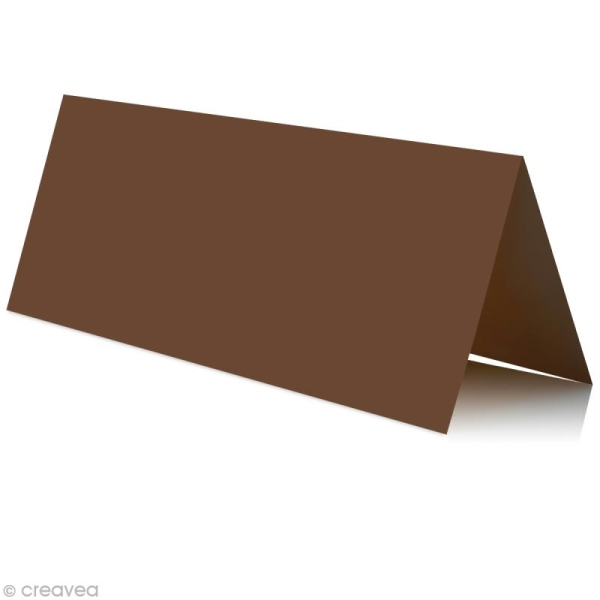 Marque place Cacao 85 x 80 mm x 25 - Photo n°1