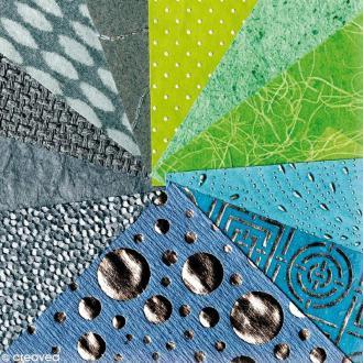 Papier du monde Clairefontaine Garçon 30 x 30 cm x 16 feuilles