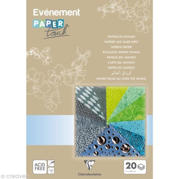 Papier du monde Clairefontaine Garçon 21 x 29,7 cm (A4) x 20 feuilles - Photo n°2