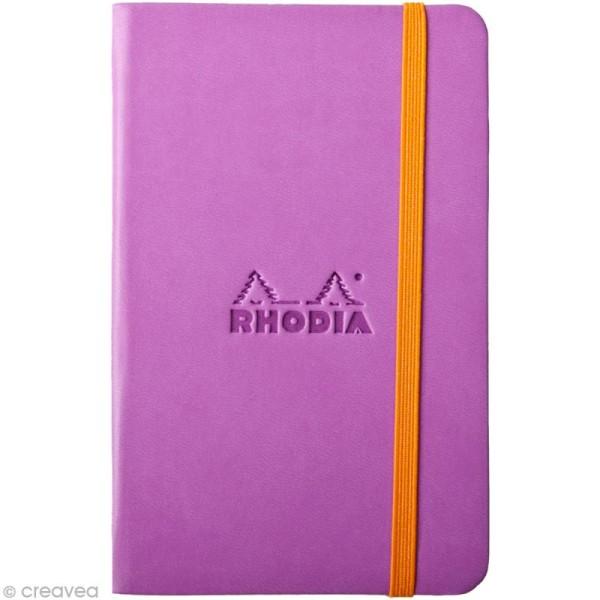 Carnet Rodhia Rhodiarama - 192 pages - Lilas - Photo n°1
