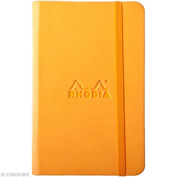 Carnet Rodhia Rhodiarama - 192 pages - Orange - Photo n°1