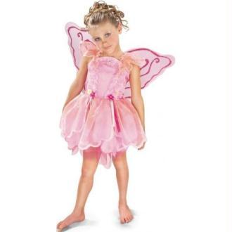 Déguisement Fée Pixie Rose Enfant_Taille S