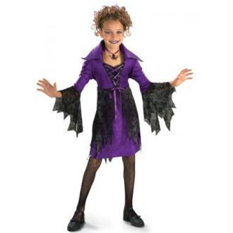 Déguisement sorcière gothique fille_Taille M