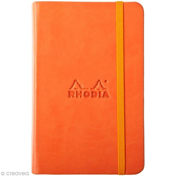 Carnet Rodhia Rhodiarama - 192 pages - Orange tangerine - Photo n°1