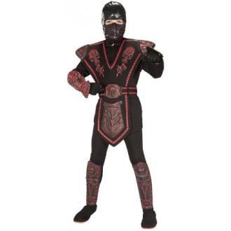 Déguisement Ninja Warrior Red Skull Enfant_Taille M