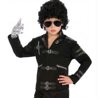 Déguisement Michael Jackson enfant veste Bad_Taille M