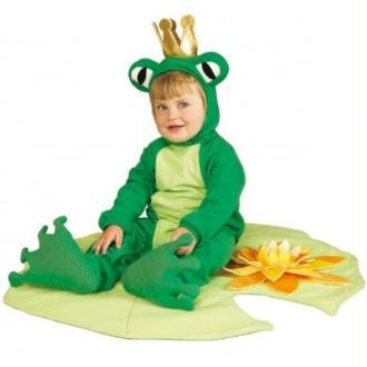 Déguisement prince grenouille bébé Taille:6-12 Mois