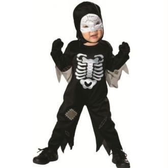 Déguisement squelette bébé Halloween Taille 1/2 ans