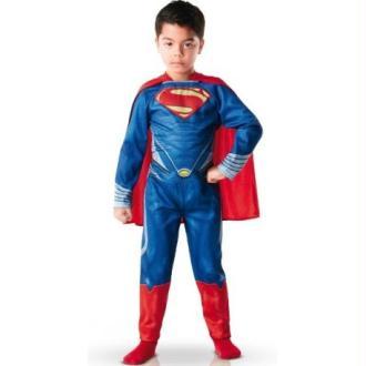 Déguisement Superman Man of Steel Enfant Taille:M-5/6ans