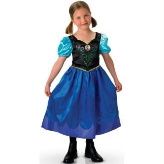 Déguisement Anna de La Reine des Neiges fille Disney Frozen_Taille S