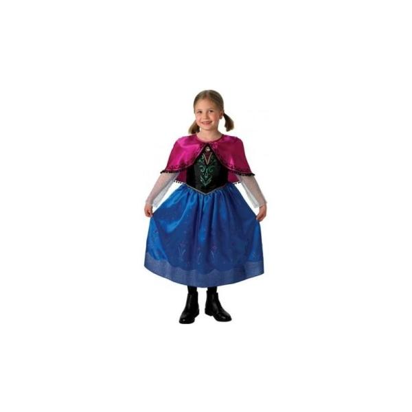 Déguisement Anna de La Reine des Neiges Disney Frozen deluxe enfant Taille  M-5 b360f628f87d
