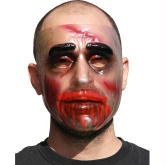 Masque Halloween transparent homme