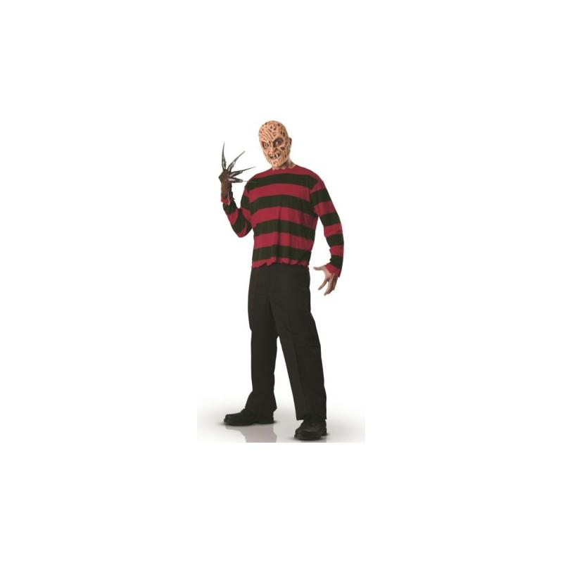 D guisement freddy krueger adulte taille standard for Taille standard housse de couette