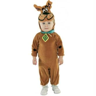 Déguisement Scooby-Doo Bébé garçon Taille 0/6 mois