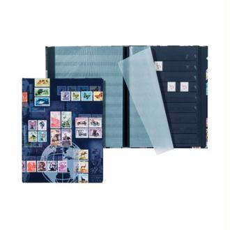 Album pour timbres postaux, format A4, 16 pages