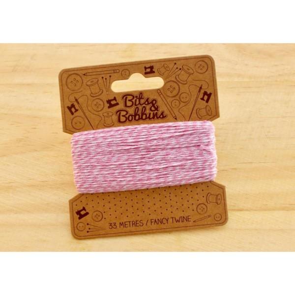 Baker twine, ficelle bicolore, corde, emballage cadeau, scrapbooking - Photo n°2