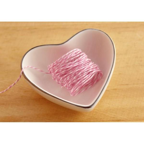 Baker twine, ficelle bicolore, corde, emballage cadeau, scrapbooking - Photo n°1