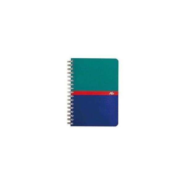 Carnet reliure intégrale 9x14 - 180 pages - 5x5 - Photo n°1