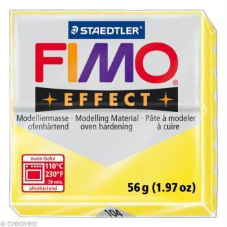 Fimo Effect Jaune Translucide 104 - 56 gr