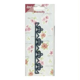 Pochoir stencil pour carte JOY CRAFTS 6001.0015