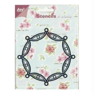 Pochoir stencil pour carte JOY CRAFTS 6001.0016