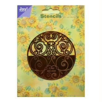 Pochoir stencil pour carte JOY CRAFTS 6001.0049