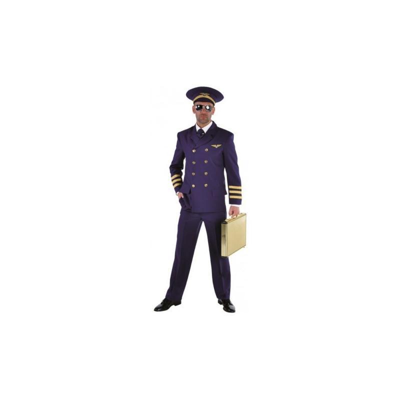 D guisement pilote de ligne homme luxe taille s for Articles de cuisine en ligne