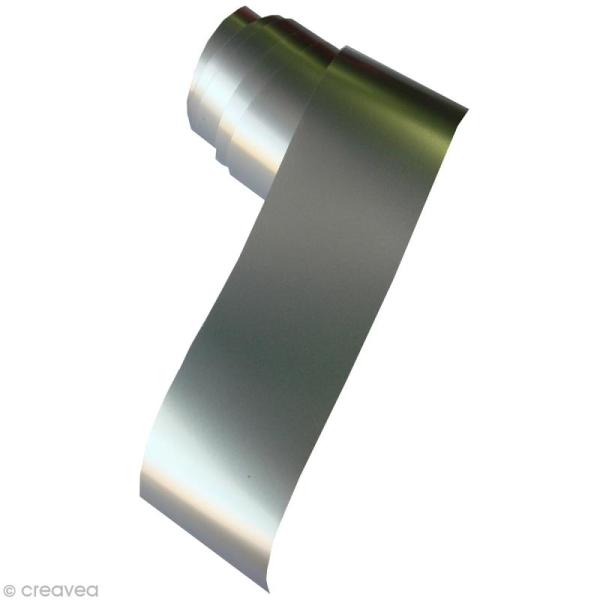 Film Argenté pour pyrodorure 2 m x 30 mm - Photo n°1