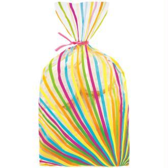 Sachets à confiseries multicolores x20 - Wilton
