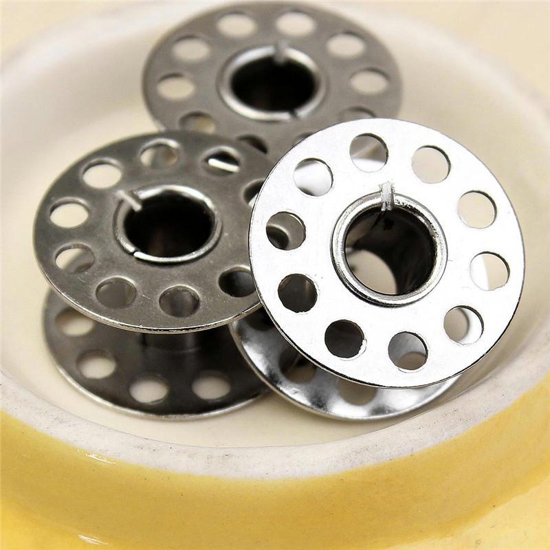 3 bobines canette en metal argent pour fil de machine for Accessoire cuisine en ligne