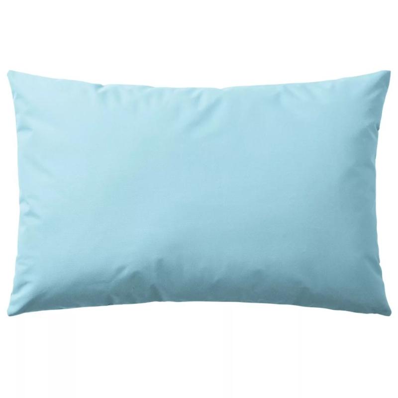 Vidaxl oreiller d 39 ext rieur 4 pcs 60 x 40 cm bleu clair for Coussin canape exterieur