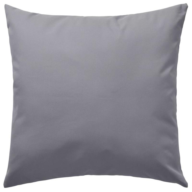 Vidaxl oreiller d 39 ext rieur 2 pi ces 45 x 45 cm gris for Coussin canape exterieur