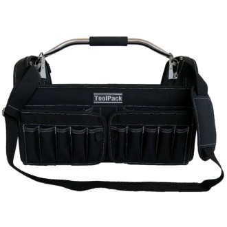 Toolpack Sac à outils portatif Brisk Noir 49 x 30 x 37 cm 360.114