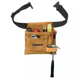 Toolpack Ceinture Porte-outils à Poche Unique Superior Cuir 366.006