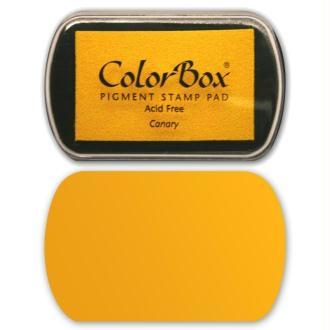 Encreur Colorbox jaune canari