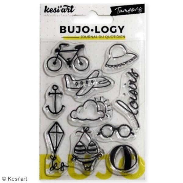 Tampon transparent pour bullet journal - Bujo Logy - Loisirs - 10 pcs - Photo n°2