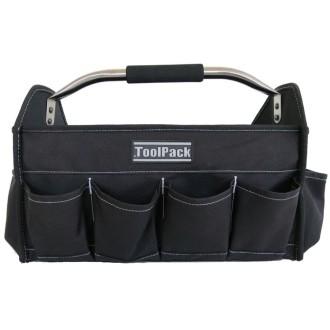 Toolpack Sac à outils portatif Extend Noir 40 x 21 x 28 cm 360.016
