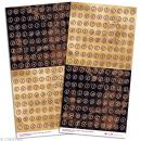 Stickers Alphabet Vintage machine à écrire x 320 - Photo n°1