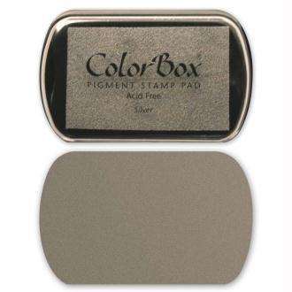 Encreur Colorbox métal argent