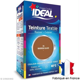 Teinture Tissu Idéal liquide Marron glacé 70 mini