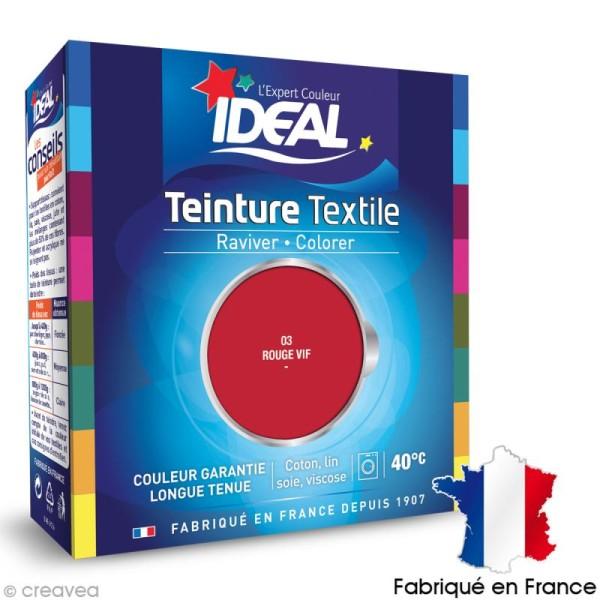 Teinture Tissu Idéal liquide Tomate cerise 03 maxi - Photo n°1