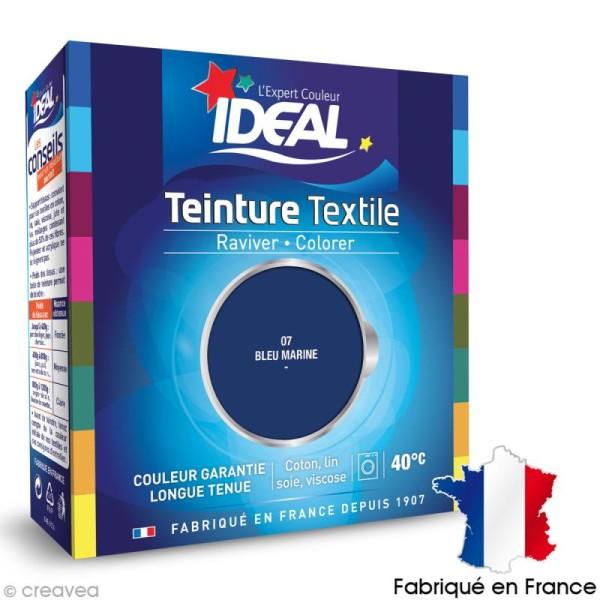 Teinture Tissu Idéal liquide Bleu marine 07 maxi - Photo n°1
