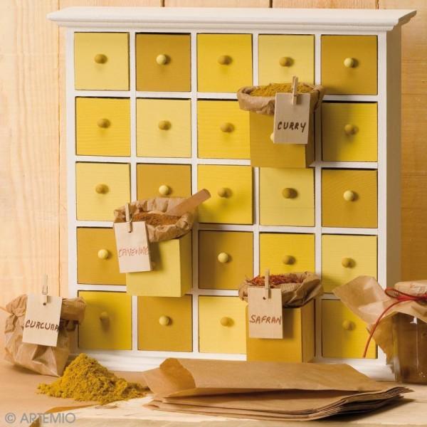 Meuble 25 tiroirs calendrier de l'Avent - Photo n°2